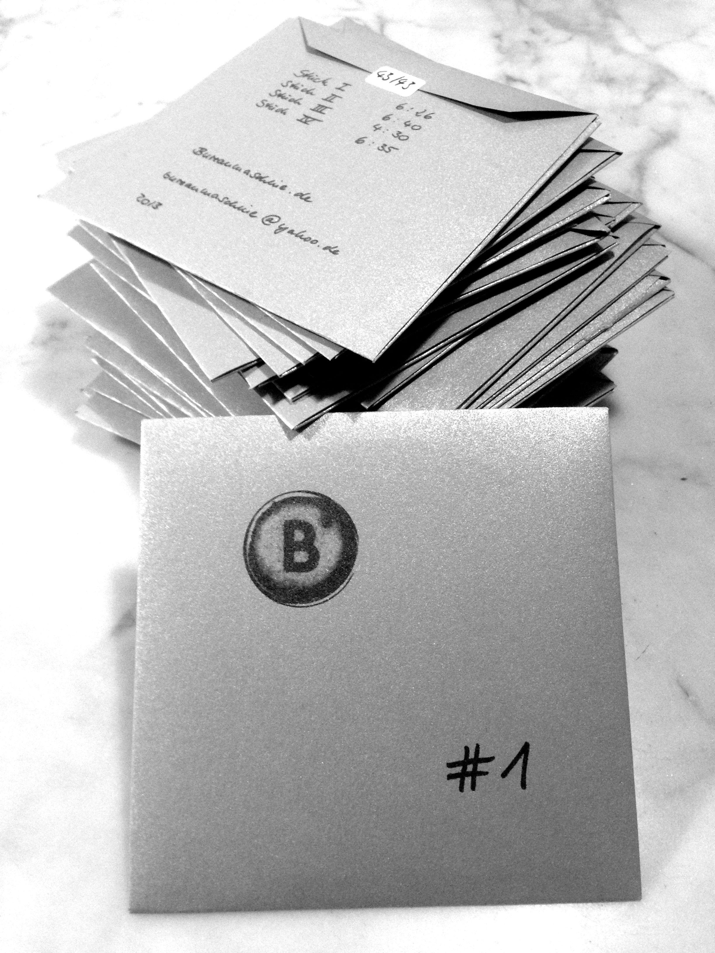 Release: Bureaumaschine - #1 (2013)